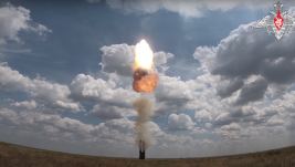 "Rusija testirala raketni sistem PVO S-500 ""Triumfator-M"""