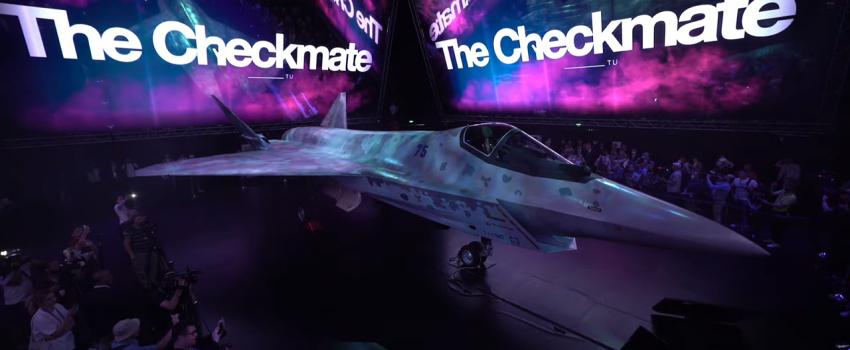 MAKS 2021: Prikazan prvi ruski savremeni jednomotorni višenamenski borbeni avion, Suhojev projekat LTS
